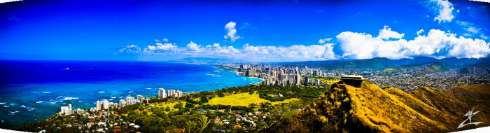 2) Instead of hiking Oahu's Diamond Head State Monument....