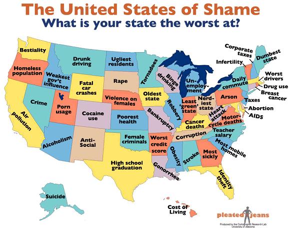 2. The United States of Shame