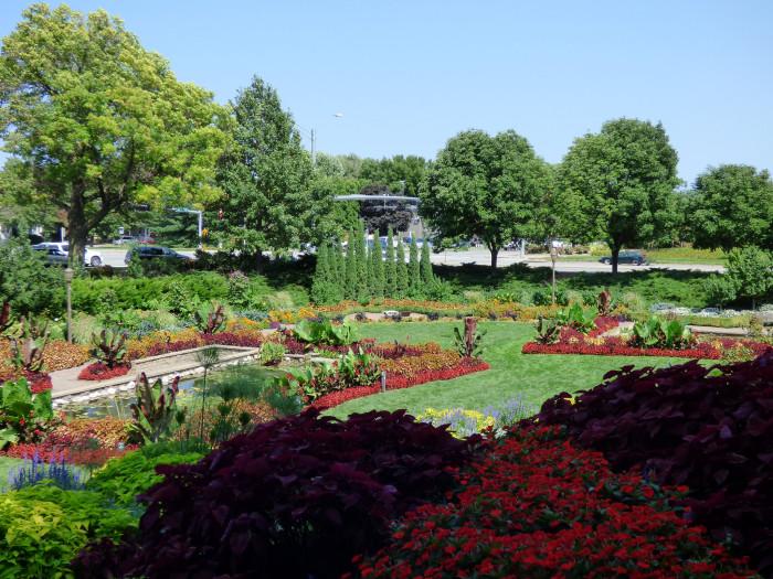 38. Sunken Gardens, Lincoln