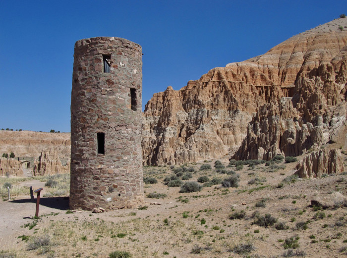 9. Water Tower at Cathedral Gorge State Park - Panaca