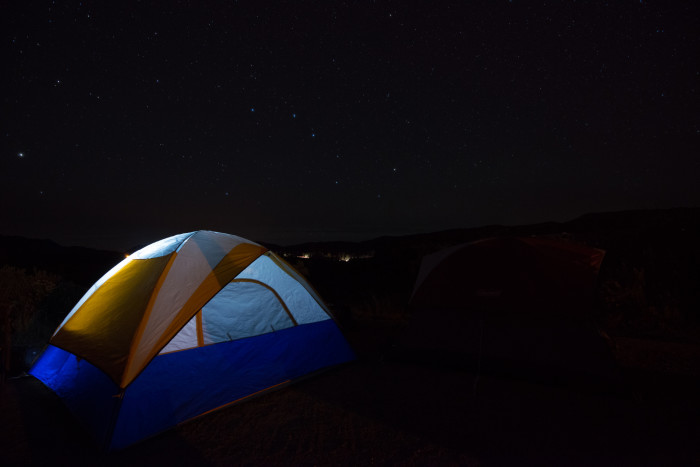 14. Pitch a tent at one of the many Kansas State Parks.