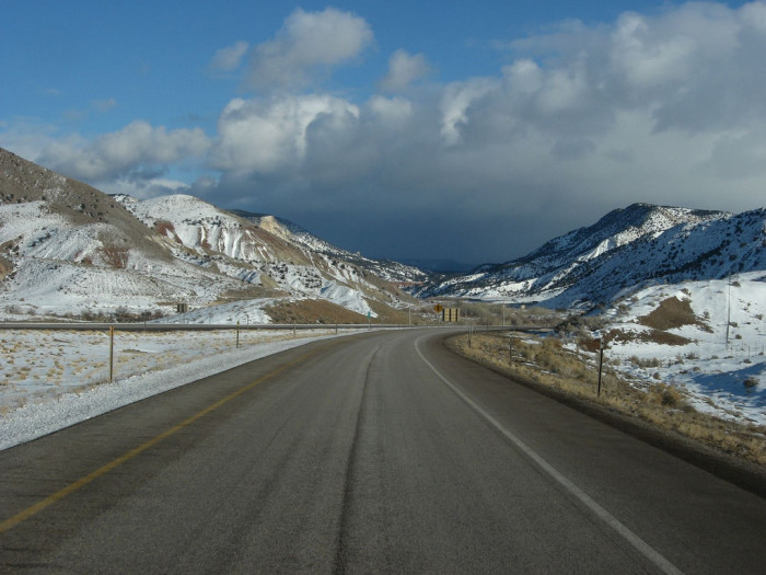 6. Interstate 70 between Green River and Salina