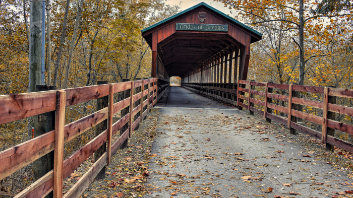 2. ...our covered bridges...