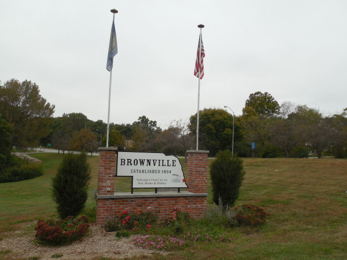 After it was established in 1854, Brownville became an important port town on the Missouri River. At one time, it was the Nemaha county seat and the largest town in the Nebraska Territory.