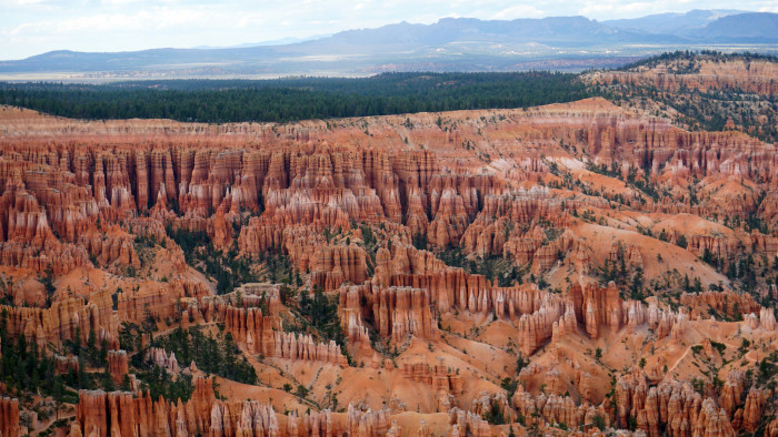 2. Instead of Bryce Canyon National Park…