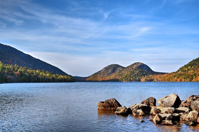 4. Jordan Pond, Acadia National Park