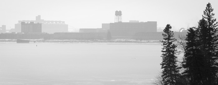 16. Duluth always looks great through the fog.