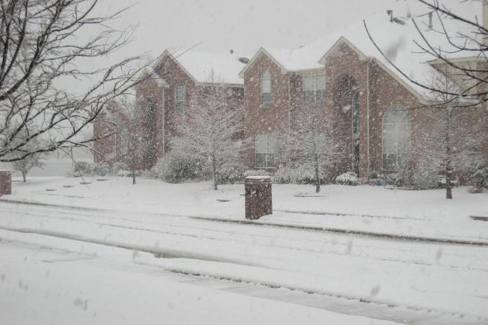 4. Texas winters