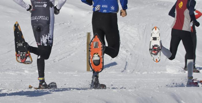 15. Go snowshoeing.