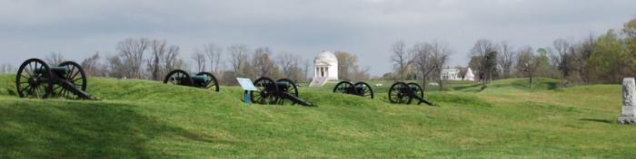 2. Tour the Vicksburg National Military Park.