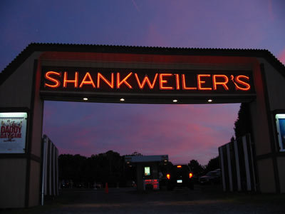 7. Enjoy a romantic double feature at Shankweiler's Drive-In in Orefield.
