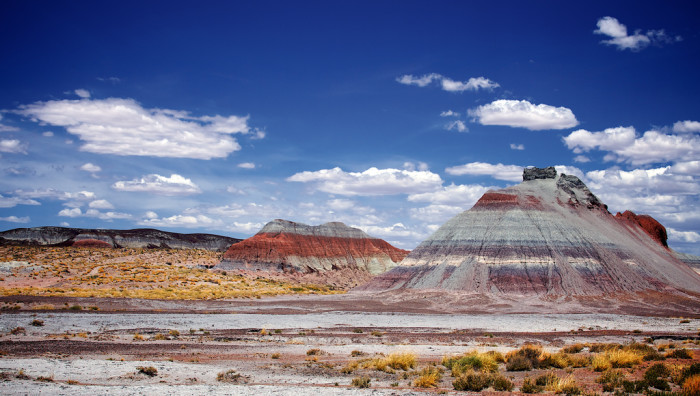 10. ...or the multicolored ones that make up the Painted Desert.