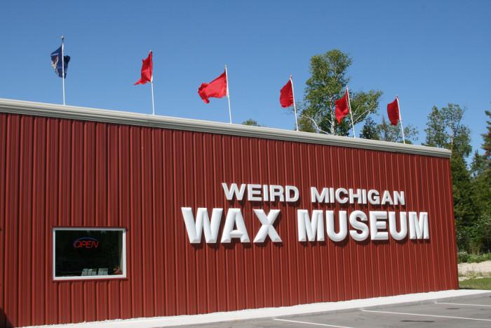 8) Weird Michigan Wax Museum