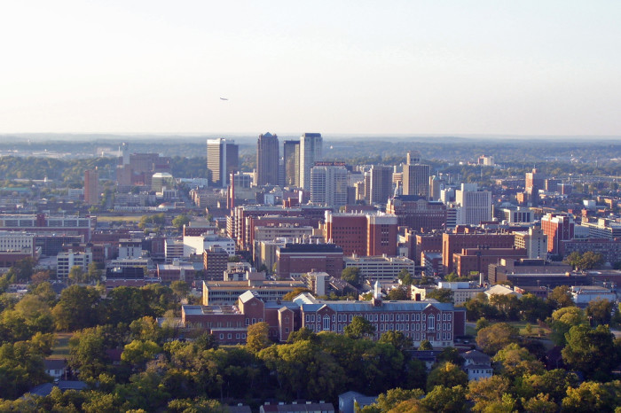 9. Alabama offers the perfect balance of city living...