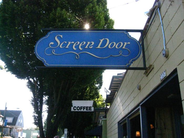 6. Screen Door