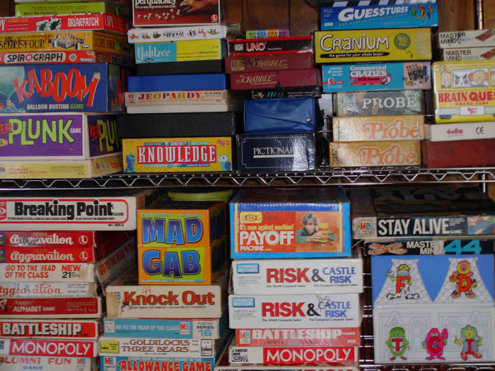 10. Spend the day playing board games with your family.