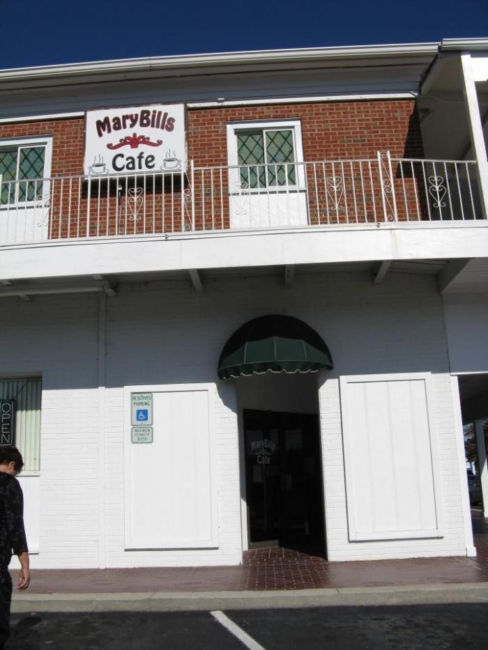9. MaryBills Cafe & Elbow Room, Fayetteville