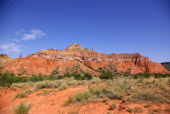 10) And finally, the always mesmerizing Palo Duro Canyon.