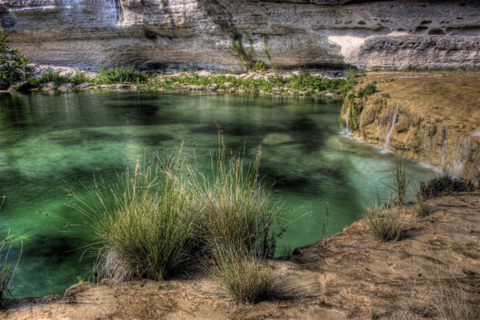 1) Blue Hole at River Riding Ranch (Leakey)