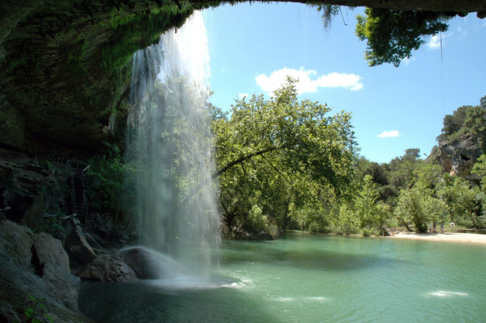 8) Swimming holes, especially the beloved Hamilton Pool in Dripping Springs.