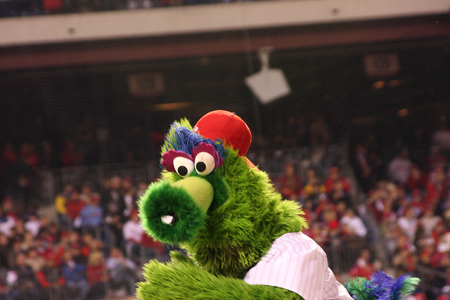 11. And every Pennsylvanian will recognize the Philly Phanatic, the mascot of the Philadelphia Phillies.