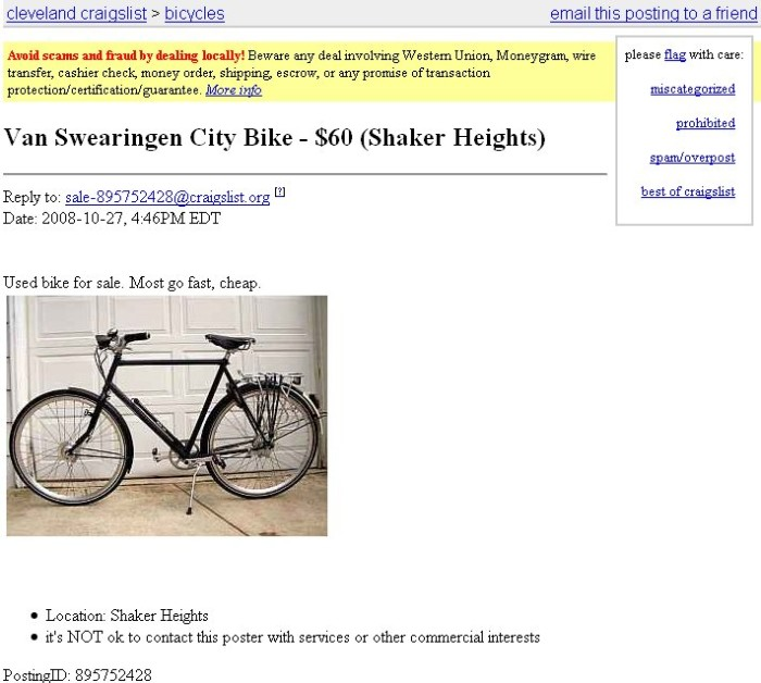 5. Forget Craigslist; check Freecycle!