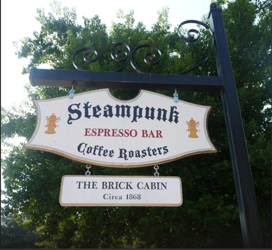 2. Steampunk Coffee Roasters, Natchez