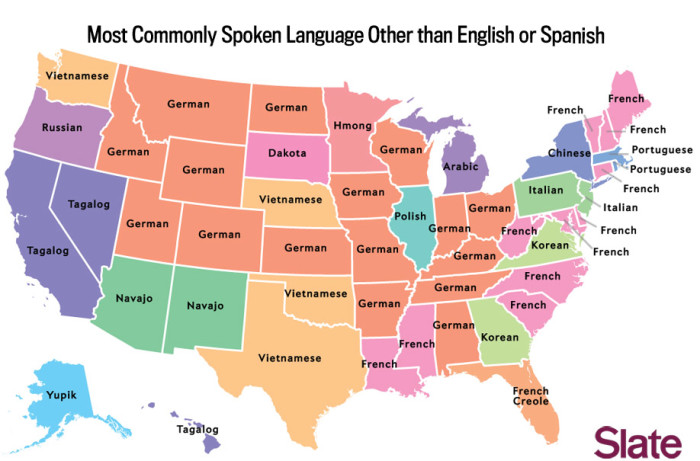 4. The 3rd Most Spoken Language Behind English and Spanish