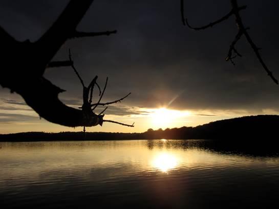 3) Bards Lake sunrise