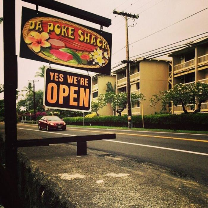 3) Da Poke Shack, Kailua-Kona