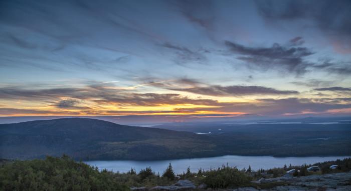 3. Cadillac Mountain - Mt. Desert, Acadia National Park
