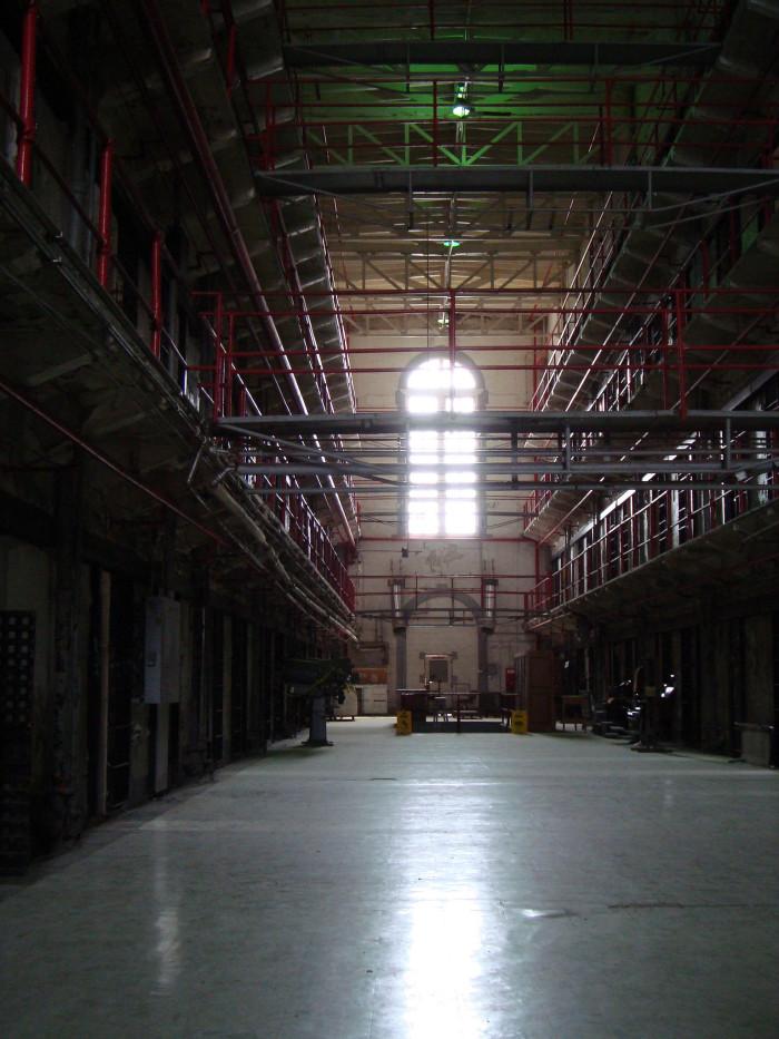 3. Inside