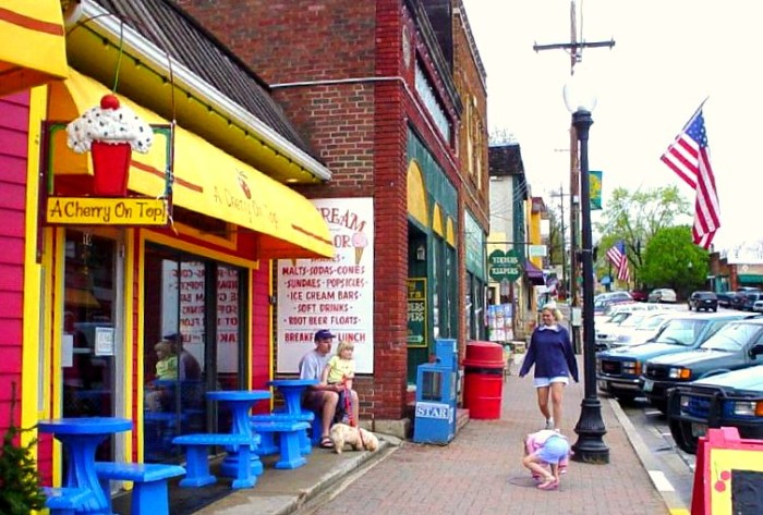3.	Quaint, adorable, friendly, historic small towns.