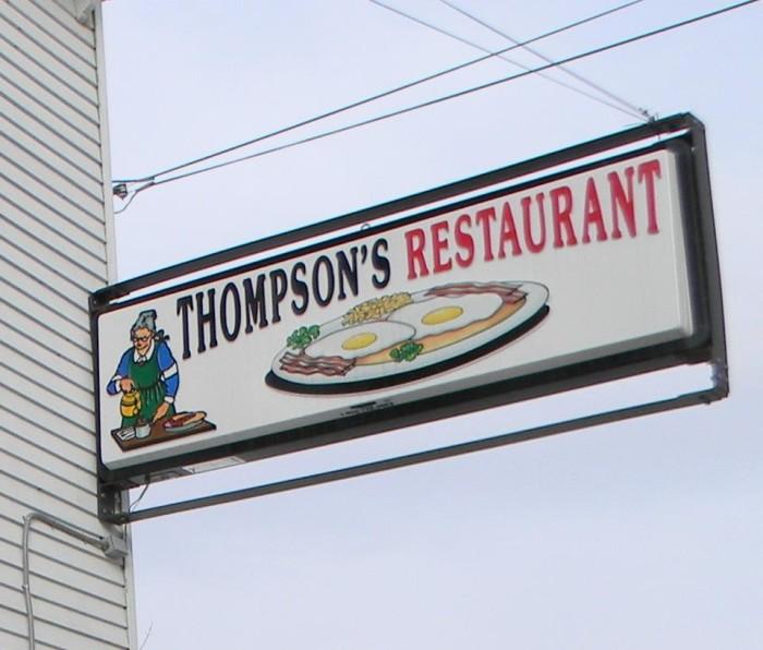 4. Thompson's Restaurant, Bingham