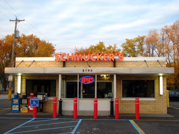 2. Schmucker's (Toledo)