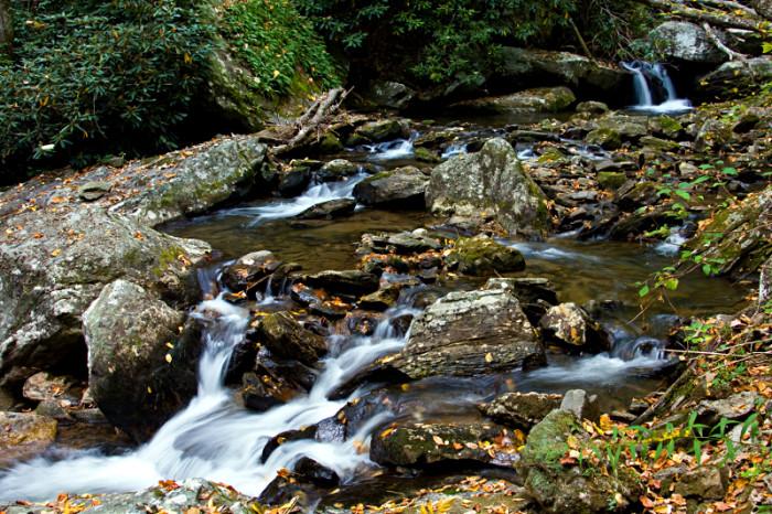 1. Anna Ruby Falls - Helen, GA