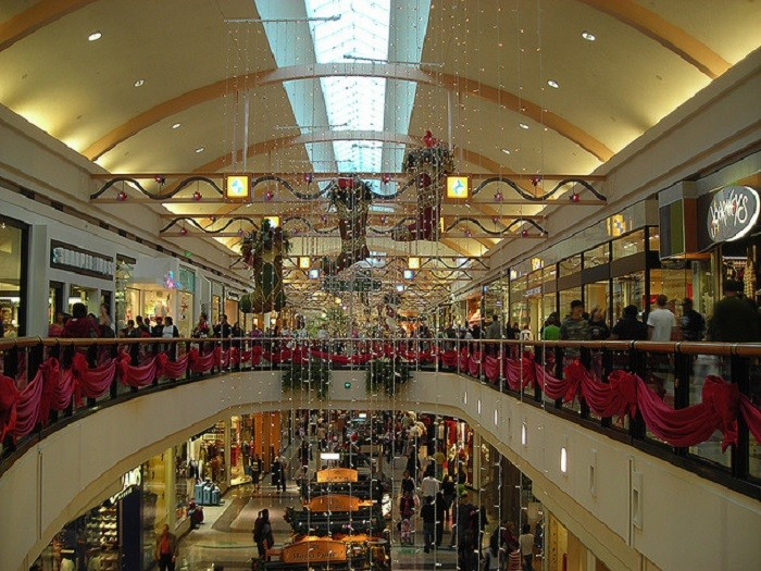 5. Years ago, people actually visited malls to do all of their shopping.