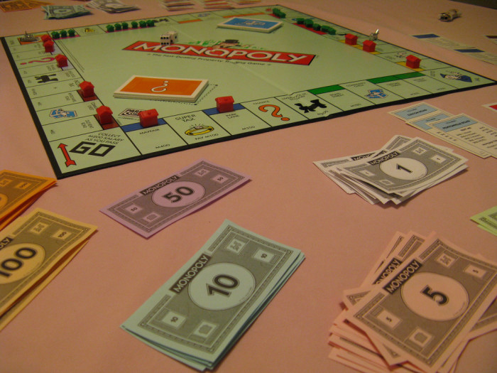 9. We played actual board games with our family.