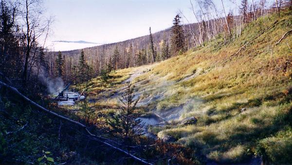 5) Tolovana Hot Springs, Fairbanks.