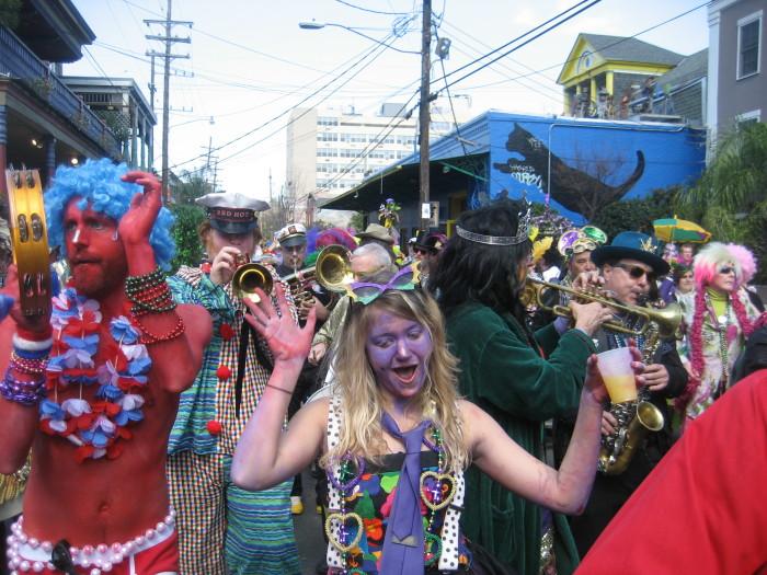 2. Mardi Gras Day New Orleans