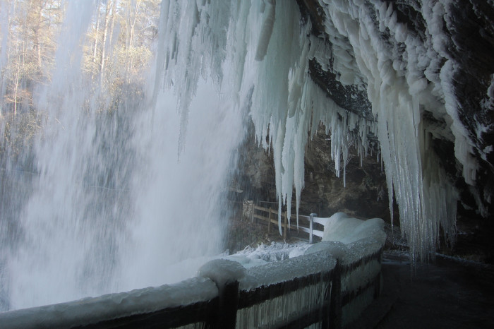 12. Blue Ridge Mountains in the winter