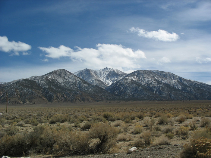 2. There are more mountain ranges in Nevada than any other U.S. state.