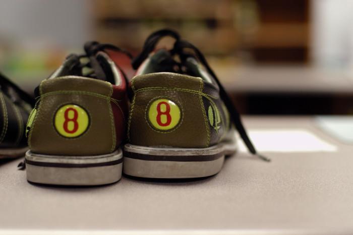6. Go bowling.