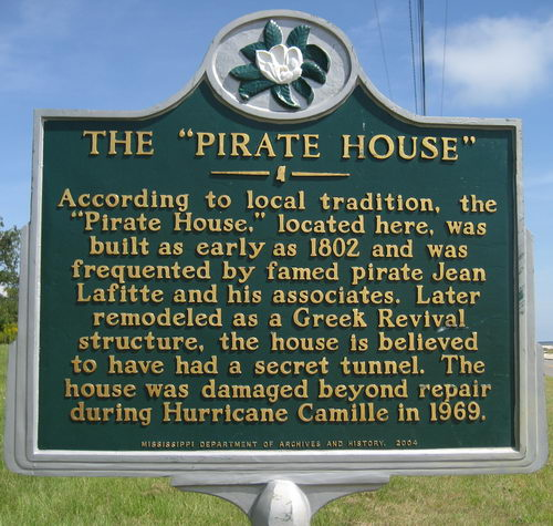 3. The Pirate House
