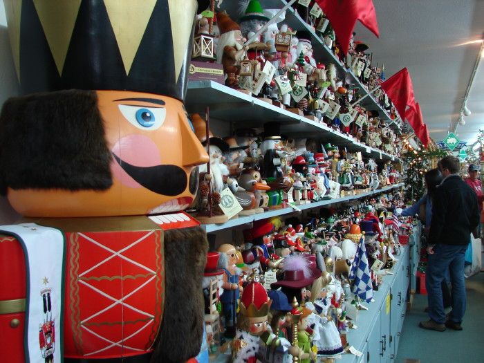 9. Where else could you find an adorable Nutcracker Museum?