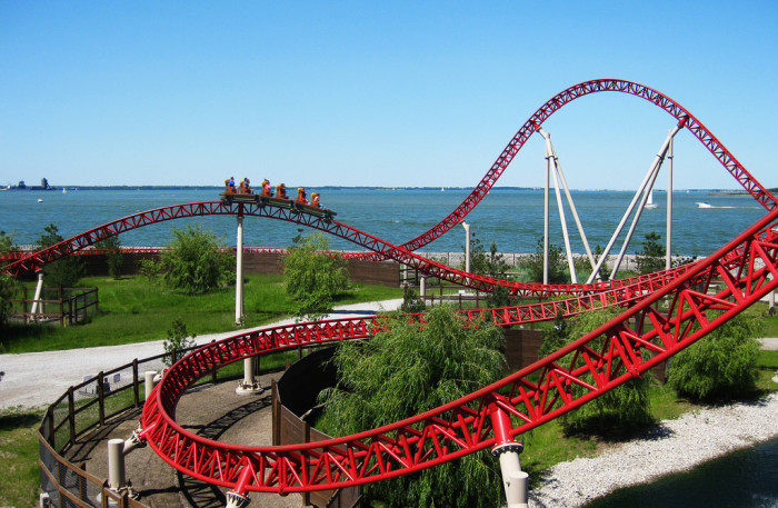 4. Never being more than a few hours away from the best roller coasters in the world.