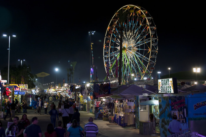 11. Spend a day at a fair, festival or other outdoor event!