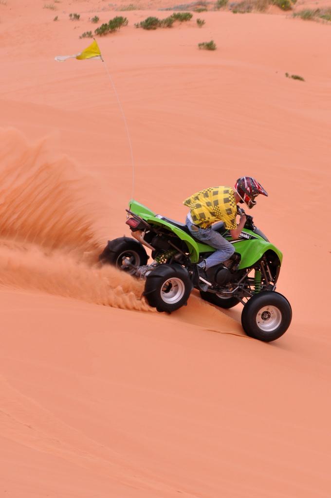8. Explore Utah on your ATV.