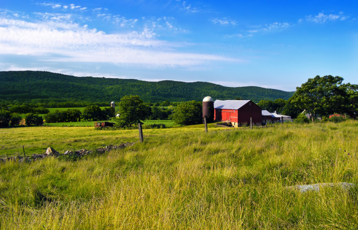 1. New Jersey has more acres of FARMLAND than Hong Kong has acres of land.