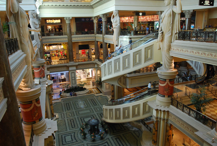 """7. Here in Nevada, we can literally """"shop till we drop!"""""""